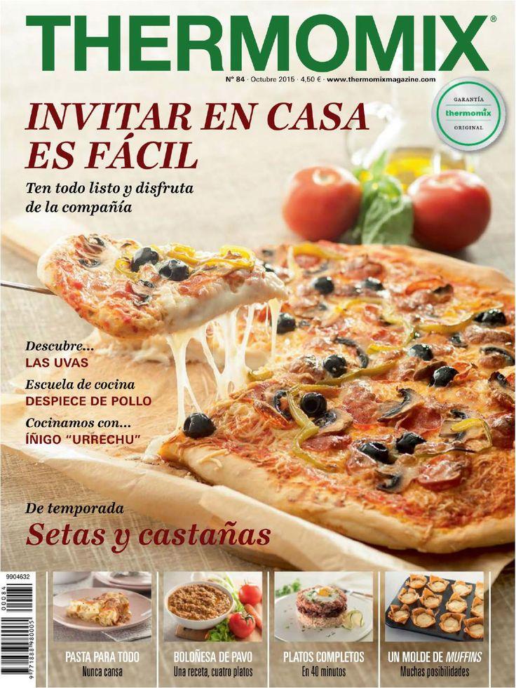 Revista thermomix n⺠84 octubre 2015 por argent