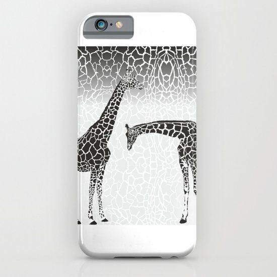 Giraffe patterns for wallpaper iPhone & iPod Case