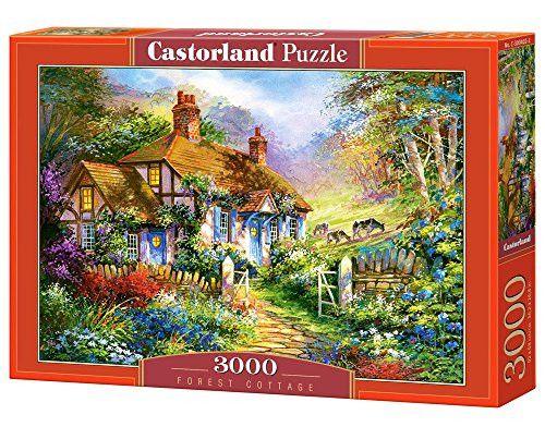 Castorland Forest Cottage Puzzle (3000 Piece)