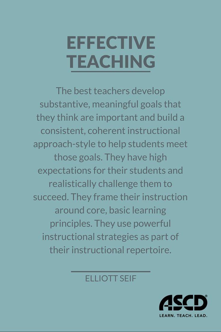 Top Qualities of an Effective Teacher