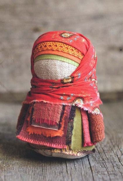 "Folk dolls handmade. Fair Masters - handmade doll krupenichka ""Polyushka ..."". Handmade."