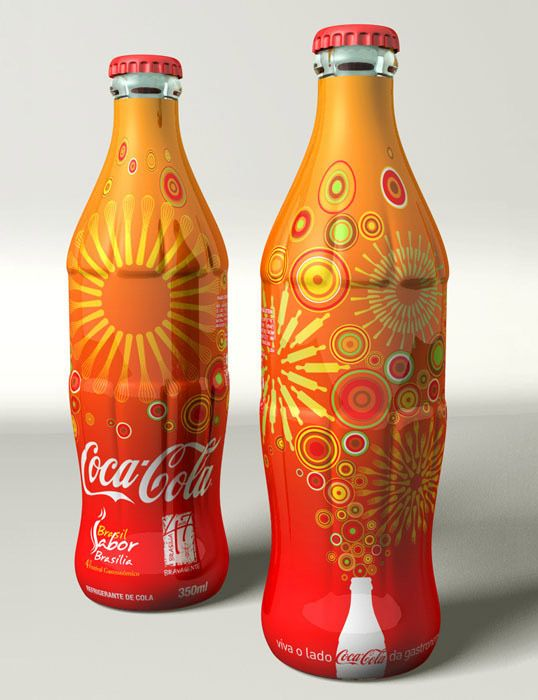 """""""Special Edition Bottle Sleeve for the event 4º Gastronomic Festival of Brasilia 2007."""