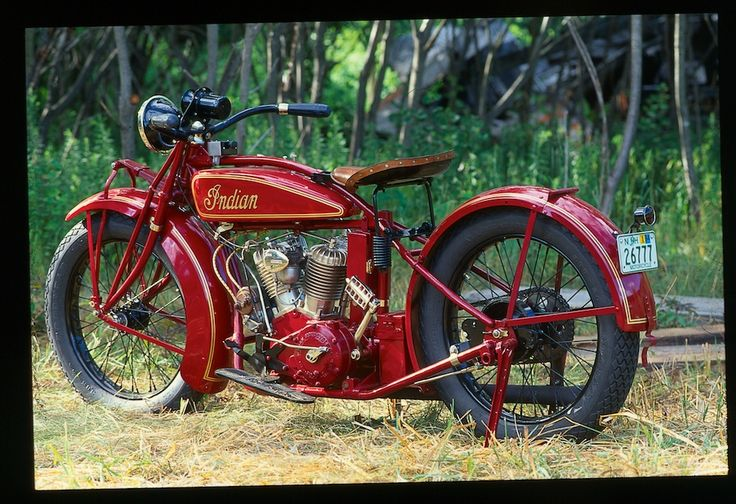 "An Indian ""Scout"" from the 1920s"