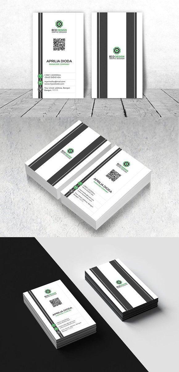 Best 25+ Vertical business cards ideas on Pinterest   Modern ...