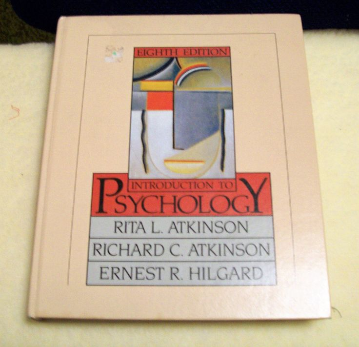 Vintage Introduction to Psychology Book Copy Right 1981 Rita Atkinson Richard Atkinson Ernest Hilgard Lots of Interesting Pictures by RustyRelicsTreasures on Etsy
