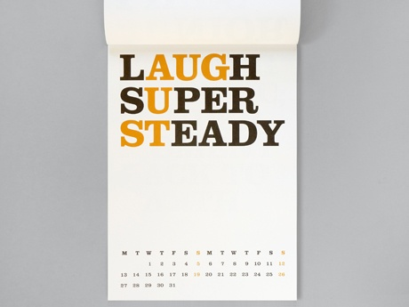Cat's Calendar 2012