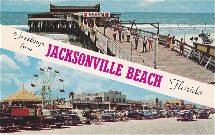 Pier Cars On Beach Ferris Wheel JACKSONVILLE BEACH Florida - Cool cars jacksonville beach