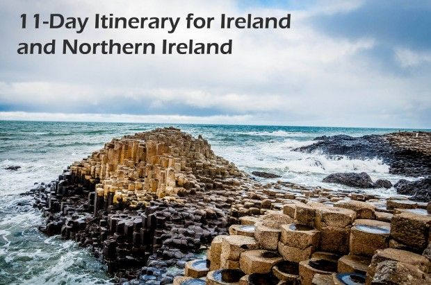 Great itinerary for a visit to the Emerald Isle