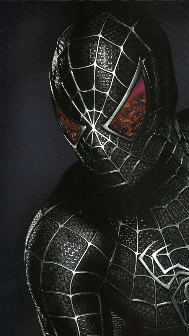 無料でダウンロード可能なspiderman3 Darkwallpapers640 X 1136 Wallpapers In 2020 Spiderman Marvel Spiderman Spiderman Costume