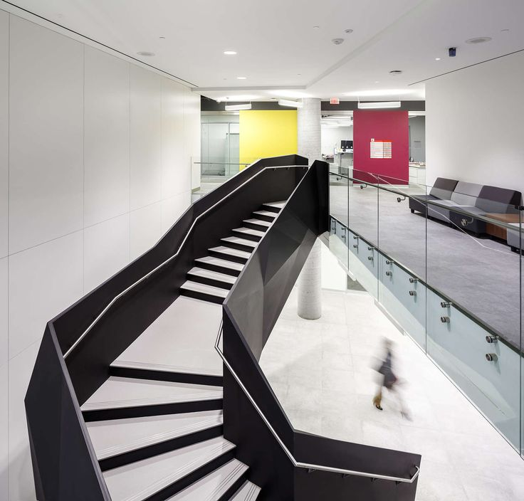Breaking Barriers In Engineering Education Student Driven Design Drives Enrollment At York Universitys Bergeron Stair RailingStairsToronto CanadaInterior