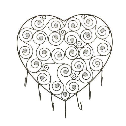 Support mural C?ur pour bijoux - Idée cadeau Saint Valentin de ShalinCraft, http://www.amazon.fr/gp/product/B00B5ONNCW/ref=cm_sw_r_pi_alp_QPoerb0P808JY