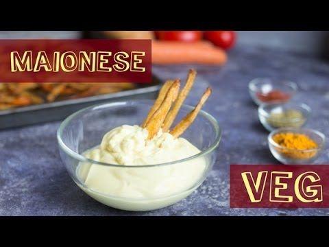 MAIONESE FATTA IN CASA VEGANA | RICETTA COLLAUDATA Senza uova | Healthy Homemade Mayonnaise - YouTube