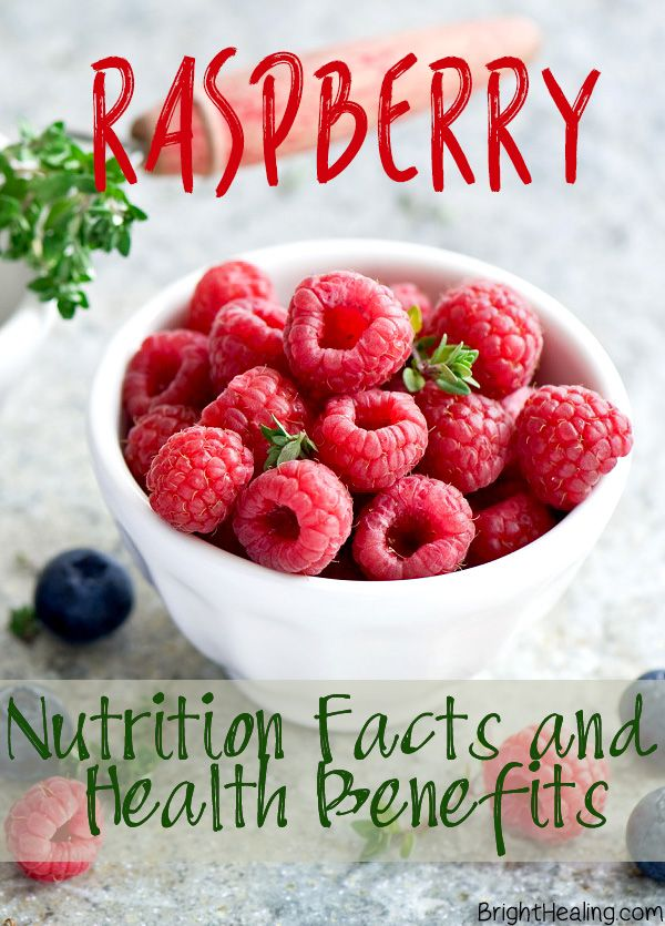 Raspberry Nutrition Facts and Health Benefits