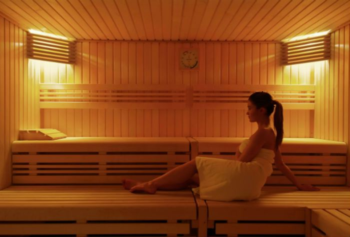 Single sauna wien