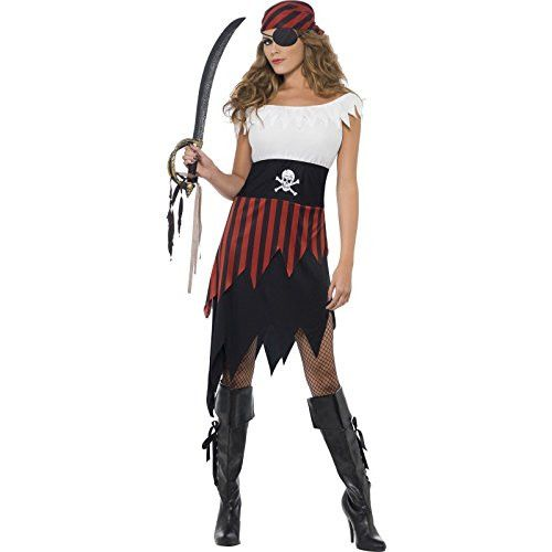 New Smiffy's Adult Wo... http://www.cosmetics4uonline.co.uk/products/smiffys-adult-womens-pirate-wench-costume-dress-and-headpiece-pirate-serious-fun-30716?utm_campaign=social_autopilot&utm_source=pin&utm_medium=pin #SmallBusinessSaturday