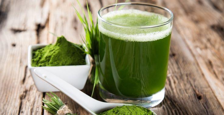 Detoxikačné smoothie so zeleným jačmeňom