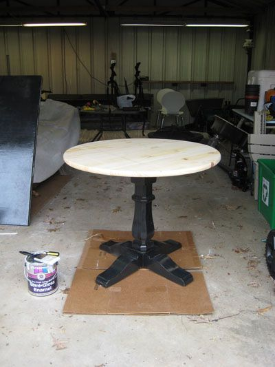 Best 25 pedestal table base ideas on pinterest farm for Pedestal table diy