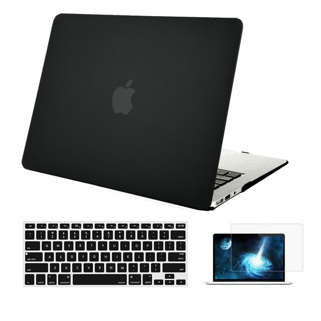 MOSISO for Apple Macbook Pro 13 Retina Matte Plastic Hard Case Cover for Mac book Air 13 13.3 Laptop Shell+Keyboard Cover Film