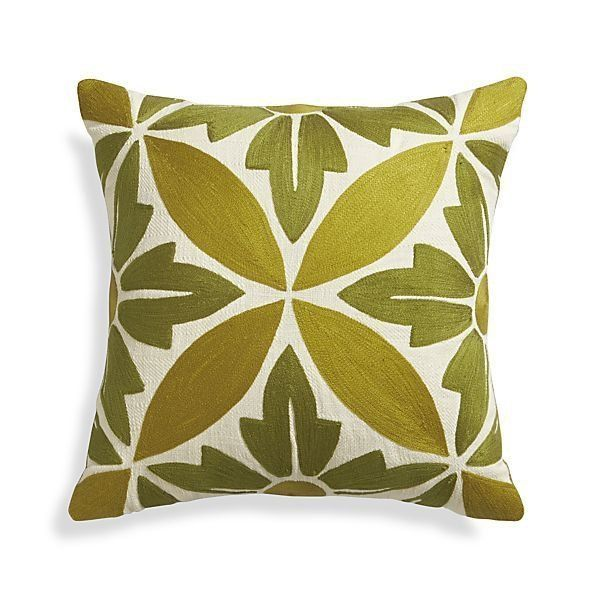 Shopping Guide: 25 Colorful Pillows for Spring | No longer sold.