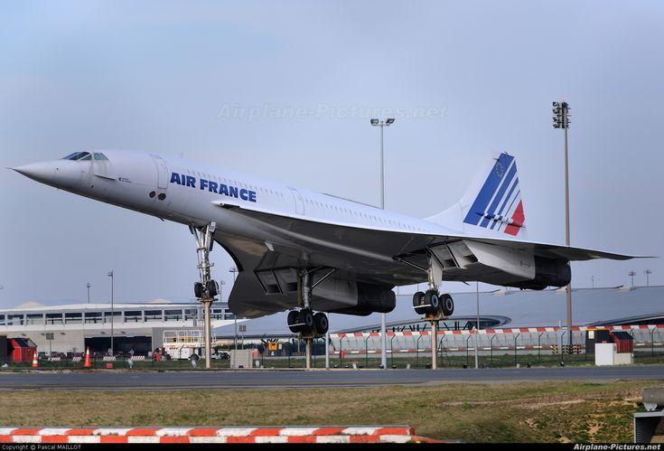 Air France Aerospatiale/BAC Concorde F-BVFF aircraft, landing at France Paris Charles de vGaulle International Airport.15/03/2011.