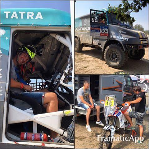 Thank you @bonver_dakar for a #perfectday #bonverdakarproject #tatra #dakar #dakarrally #rally #truck #beast   #ktm @ivan_jakes #ivanjakes