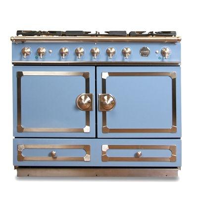 La Cornue CornuFé Stove, Provence Blue Oven