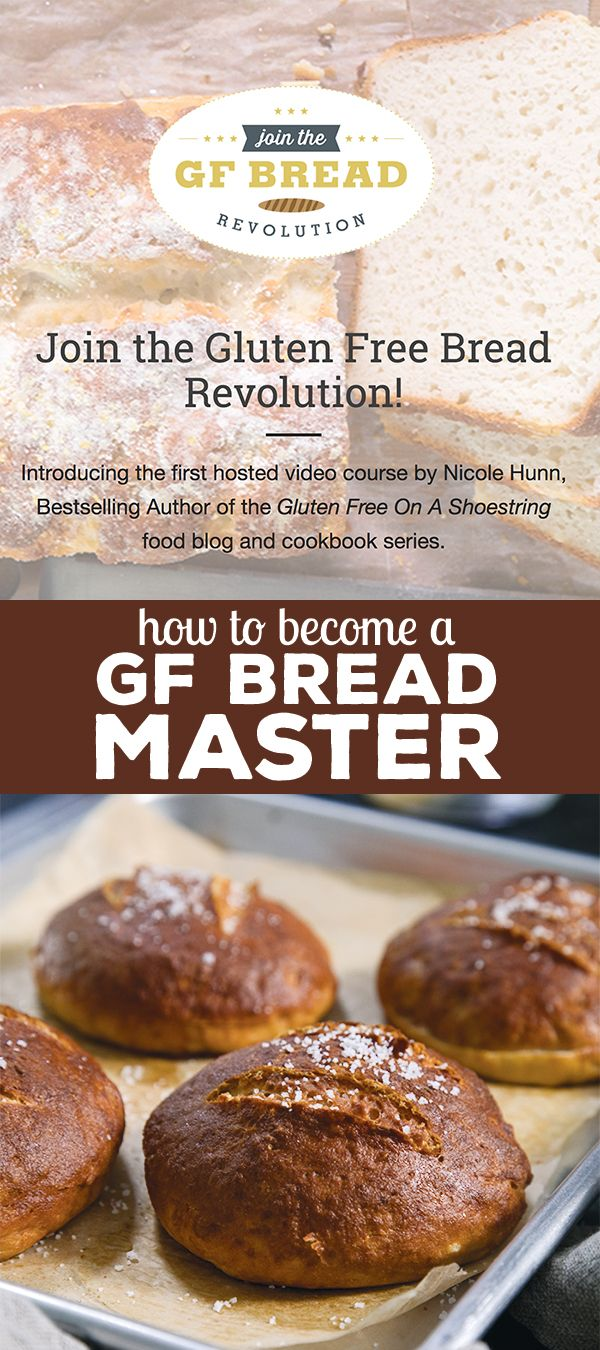 Have you ever wished you could master gluten free yeast bread once and for all? This is your chance. Let's do it together. Limited time offer! #GlutenFree #glutenfreebread