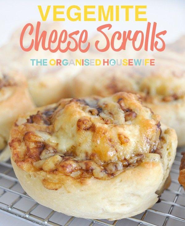Vegemite Cheese Scrolls