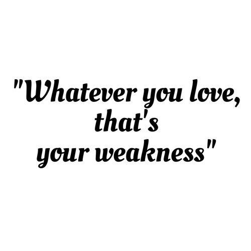 So I will love none