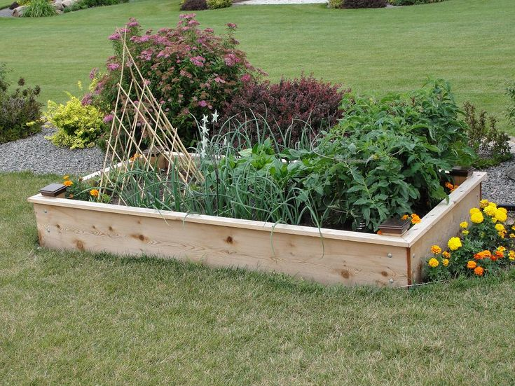 If You Have Always Wanted To Build Your Own Raised Garden, This Tutorial  Will Help