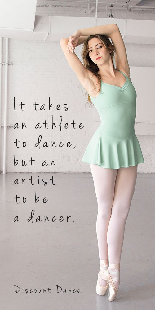 Such a beautiful dancer. Love the inspiration, and love the pretty mint green dress too!