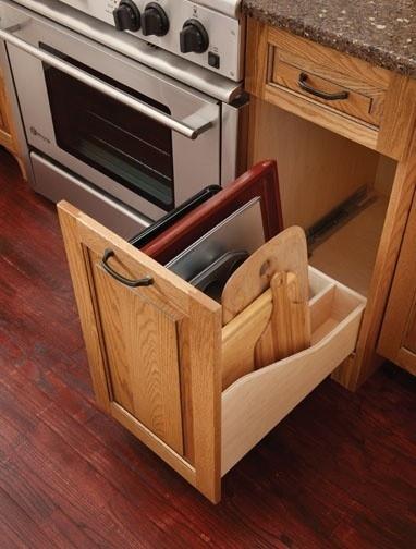 Pull Down Kitchen Storage