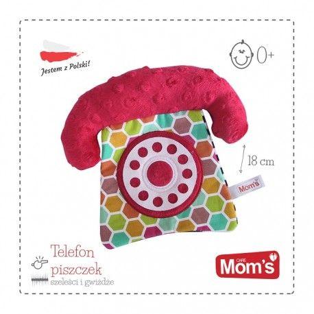 Piątek, Piąteczek, Piątunio ... Jak zawsze co 7 dni i tak samo go Kochamy:)  Jest bawełniany, piszczy i szeleści:) - Telefon Hencz 955 już dla Niemowląt.   Zabawka wydając dźwięk przykuwa uwagę maluszka, zaś wyraziste kolory pozwalają na stymulację zmysłów.  Najważniejsze że nie dzwoni:)   Ile telefonów można mieć w domu:)  Miłego Weekendu:)  http://www.niczchin.pl/zabawki-dla-niemowlat/3401-hencz-955-telefon-piszczek.html  #hencz #telefon #piszczek #zabawki #niemowlaki #niczchin #kraków