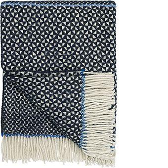 Wilson Indigo Throw | Designers Guild USA