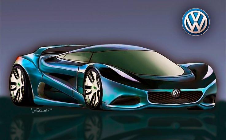 Concept car  VW by ovidiuart.deviantart.com on @DeviantArt
