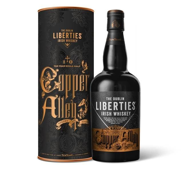 The Dublins Liberties Copper Alley 10YO Sherry Cask Finish
