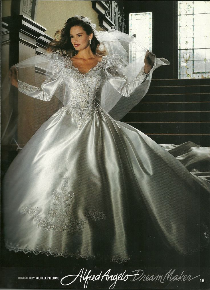 Alfred Angelo Dream Maker Spring of 1992 Found in a magazine (I may have this already pined)