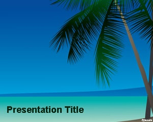 Paradise PowerPoint Template is a free PowerPoint template background that you can use to make presentations for hotels, relax and vacation since it has a nice beach PowerPoint background design in the master slide