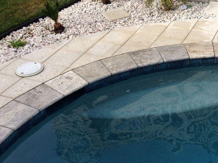 Honed Surface Bullnose Edge Beige Travertine Swimming Pool: 30 Best Bluestone Honed Tile Images On Pinterest