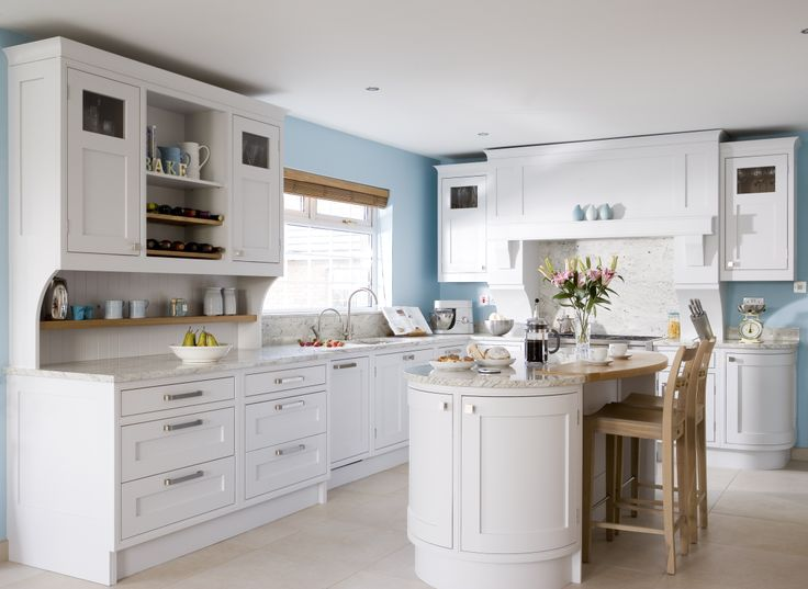 Best Hand Painted Kitchen In Farrow And Ball Cornforth White 400 x 300
