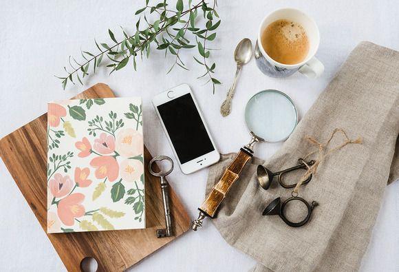 Styled Stock Photo Desktop full by Petra Veikkola on Creative Market