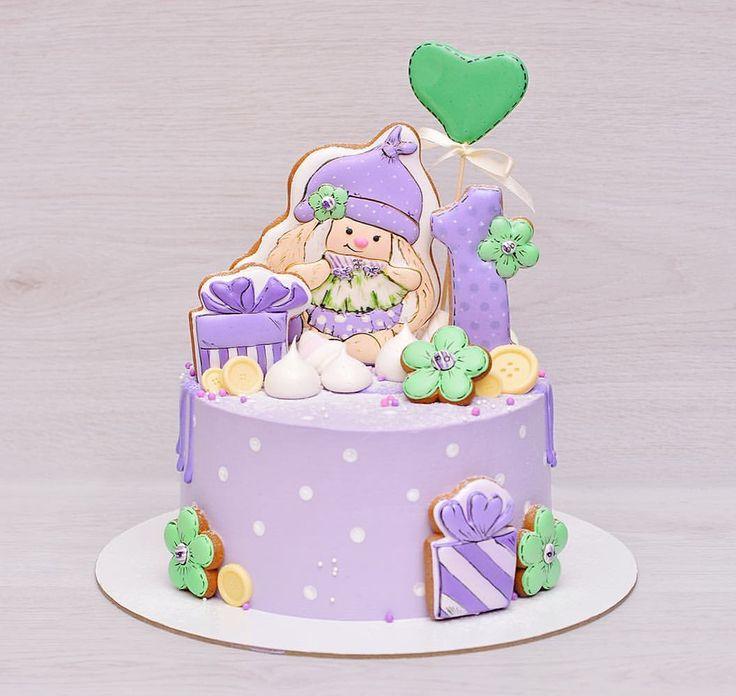 Горошек Вам в ленту!  Мимишный и нежный тортик на первый день рождения малышки! Вес торта 2 кг., диаметр 18 см. Оформление имбирные расписные пряники, воздушное безе, карамель, шоколад)  _____________________________ По всем вопросам просьба писать в WhatsApp/Viber 89160414460 #профитрольныйторт #профитроли #шоколадномятныйторт #шоколадныйтортназаказ #тортикназаказ #торт #торты #домашняякондитерская #cake #desserts #sweets #кондитерскаямосква #тортбезмастикиназаказ #тортсягодами #детск...