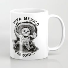 Viva Mexico Cabrones Mug