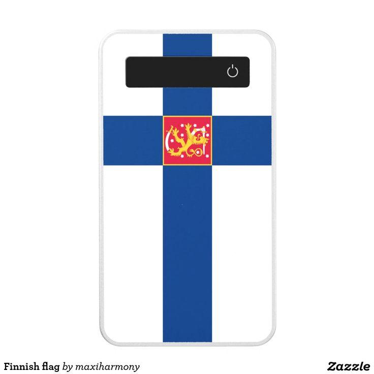 Finnish flag power bank