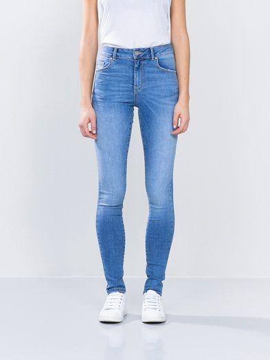 Higher F Emma jeans   7165083   Blå   BikBok   Norge