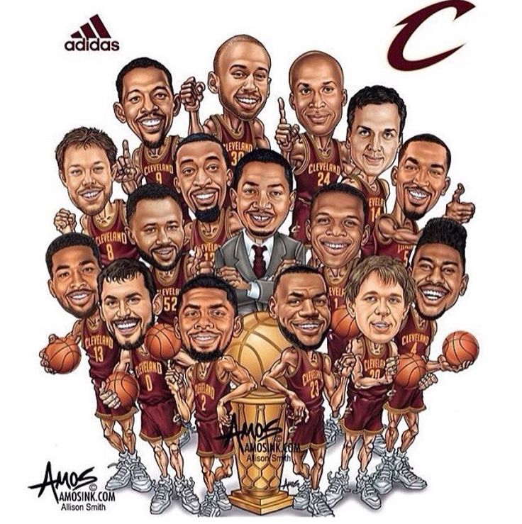 Cleveland Cavaliers 2015-2016 Champs