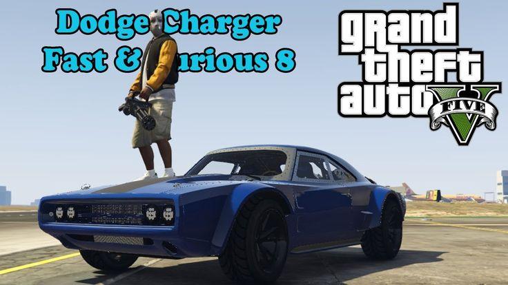 Идеальная GTA 5! Dodge Charger Fast & Furious 8