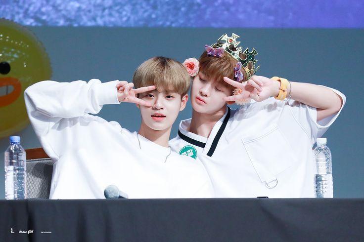 Wanna-One - Daehwi and Jinyoung