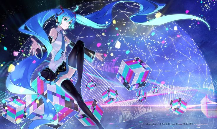 Anime Hatsune Miku Wallpaper