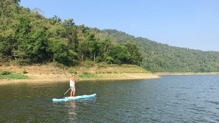 Stand Up Paddling (SUP) Standup paddleboarding - Kaeng Kra Chan National Park, Thailand https://youtu.be/A9c7Gz3B7Xw #StandUpPaddling #SUP #Standuppaddleboarding